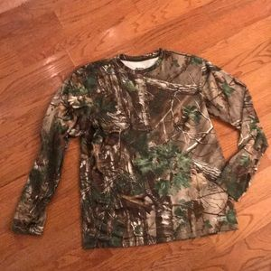 Guide Series Real Tree Scent Core long Sleeve M
